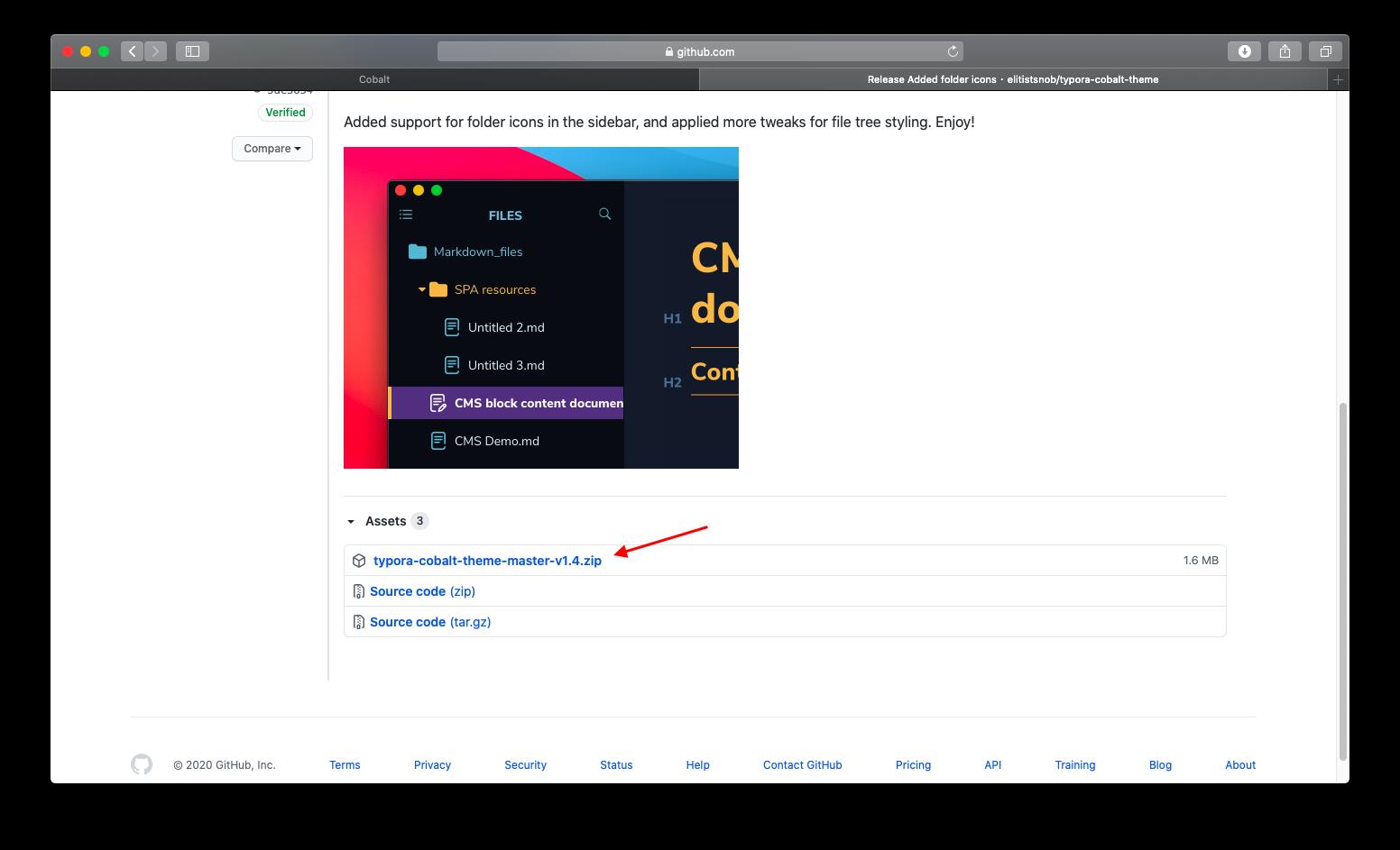 跳转到GitHub
